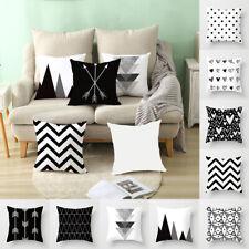 Geometric Pillows Case Throw Pillow Back Cushion Cover Home Sofa Decor
