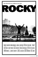 65227 Rocky Movie ylvester Stallone, Talia Shire Wall Print Poster CA
