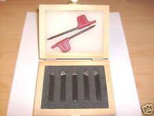 """Drehmeißelsatz Wendeplatten 10x10, 5-teilig HM turning tool set 3/8"""""""