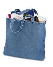 Port & Company 100% Cotton Web Handle Convention Tote Twill Bag. B050