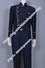 Battlestar Galactica Cosplay William Adama Costume Uniform With Red Trim