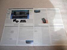 Linn LK1 Preamp, LK280 Amplfiier Review, 9 pg, 1989