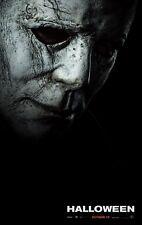 "Halloween Movie Poster Laurie Strode Horror 2018 Film 13x20"" 24x36"" 27x40"" 32x48"