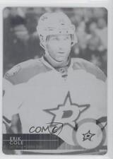 2014-15 Upper Deck Printing Plate Black #64 Erik Cole Dallas Stars Hockey Card