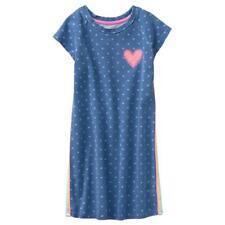 NWT Gymboree Spring Vacation Demin Heart Dots Dress Girls many sizes