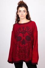 Jersey manga larga punto rojo y negro Ammonia sweater Jawbreaker SWA6309