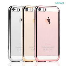 iPhone SE Case USAMS Unique Design Luxury TPU Back Case Cover For iPhone SE/5S