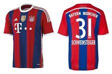 Trikot Adidas FC Bayern 2014-2015 Home WC - Schweinsteiger [164 bis XXL] FCB
