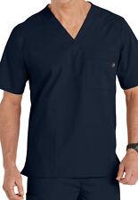 WonderWink Medical Scrubs Men's Navy Utility 5 Pocket Top Sz S-XXL NWT