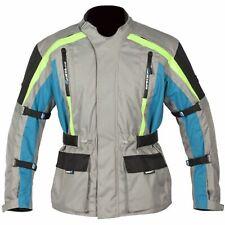 Spada Turini Motorcycle Motorbike Waterproof Breathable Wp Jacket - Silver