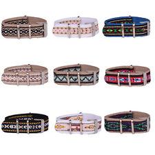 New Fabric Folk Vintage Cambo 20mm Watchband Nylon Watch Strap Wristwatch Band
