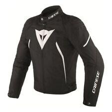 Dainese Avro D2 Mens Textile Jacket Black/White