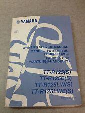 Revue Manuel d'atelier du proprietaire Yamaha TT-R125 / E/ LW/ LWE (S)