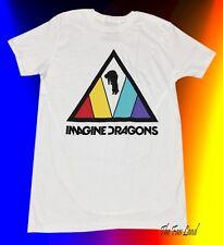 New Imagine Dragons Evolve White Mens Vintage T-Shirt