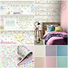 Arthouse GIRLS LIFE estantería,Jester & con Purpurina Papel Pintado - rosa,Lila