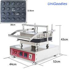 Egg Tarte Pie Waffle Machine Maker Automatic Commercial Dessert 20 Round Shell