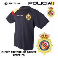 CAMISETAS TECNICAS POLICIA NACIONAL: CNP - ESCUDO GENERICO M1