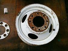 chevy 1 ton dual 2nds  steel rim 8  lug WHEELS 16 x 6  1988 chevy  8 x 6.5 GM