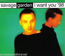 SAVAGE GARDEN - I Want You '98 (UK 3 Tk CD Single Pt 1)