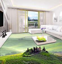 Hill Towns Tuscan 3D Floor Mural Photo Flooring Wallpaper Home Wall Decal