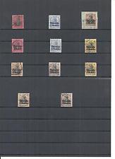 Marokko, DAP, 1899 - 1919, Einzelmarken ex MiNrn: 1 - 58 o,gestempelt