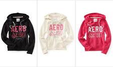 Aeropostale Womens Girls Aero EST 1987 Popover Hoodie Sweatshirt Sz XS & L NWT