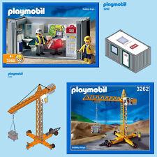 Playmobil * 3260 3262 4080 obra Oficina/Grua * Repuestos/Piezas *