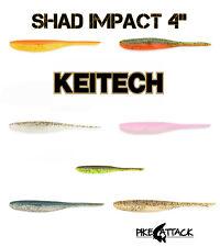 "KEITECH Shad Impact/Live Impact 4"" Pintail-Shad 11 cm Barsch-Zander"