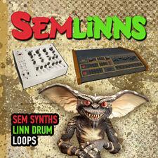 SEMLiNNS - Vintage modern synth & drum loops Oberheim SEM & Linn Drum 24-bit WAV
