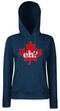 Canada Eh? Women Hoodie Sweatshirt Frank Gallagher Shameless Fun Maple Leaf Flag