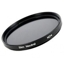 Nd4 efecto slim filtro gris filtro 49, 52, 55, 58, 62, 67, 72, 77, 82 mm