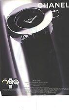"""PUBLICITE ADVERTISING 1999   CHANEL montre luxe """" LA RONDE"""""""