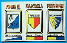 FIGURINA CALCIATORI PANINI 1978/79 SCUDETTO -SERIE-C2 n.574 NUOVA