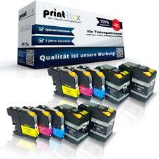 10x Compatible Cartuchos de tinta para Brother lc-12e XXL kassetten-drucker Pro