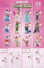 Playmobil 5204 figuras figures serie 1 Girls-como nuevo