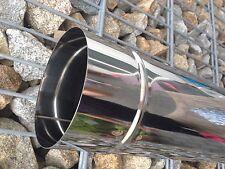 Ofenrohr Edelstahl Schornstein Sanierung Rauchrohr 1.4404 Abgasrohr 150  0,6 mm