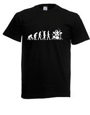 Herren T-Shirt Evolution Schlagzeug bis 5XL