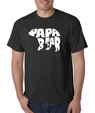 Papa Bear Couples Tee Papa Bear Father's Day TShirt Married Couple T-Shirt shirt