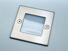 Set LED Treppen Stufenbeleuchtung HV Spot TAX 230V Wand Einbaustrahler