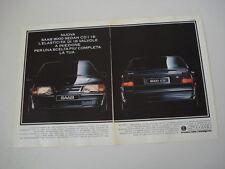 advertising Pubblicità 1989 SAAB 9000 CD