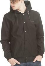 Ragwear Eagle Black Vegan Streetwear chaqueta mens señores abrigo Parka New