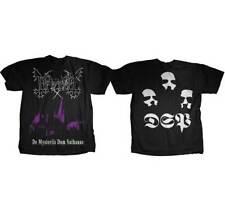 MAYHEM DE MYSTERIIS DOM SANTHANAS MUSIC BAND METAL ROCK PUNK T TEE SHIRT S-XL