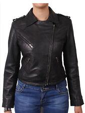 Women Leather biker Jacket Brandslock Leather Jackets Fitted design jackets