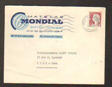 "LYON (69) USINE de LITERIE ""MATELAS MONDIAL"" en 1964"