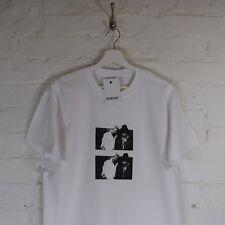 ODB Method Man Ol' Dirty B&W Brooklyn Zu Hip Hop White Tee T-shirt by AF