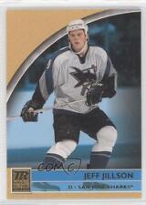 2001-02 Topps Reserve #119 Jeff Jillson San Jose Sharks Hockey Card