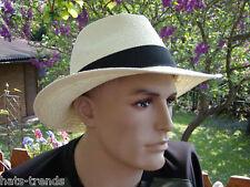 Herrenhut  Klassischer Strohhut Farbauswahl  Herrenhüte Sonnenschutz Urlaub