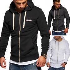 JACK & JONES Herren Sweatjacke Hoodie Kapuzenpullover Pullover Sweatshirt Jacke