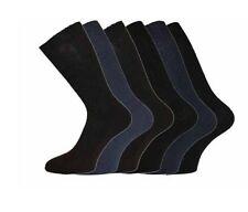 6-11 Scarpa non-elastic Calze di cotone Loose Top Da Uomo HJ Softop 12 COPPIA Pack.