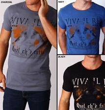 """Mens """"KING"""" Tee RARE Street MMA print Tshirt SLIM FIT - MACRI - Free POST!"""